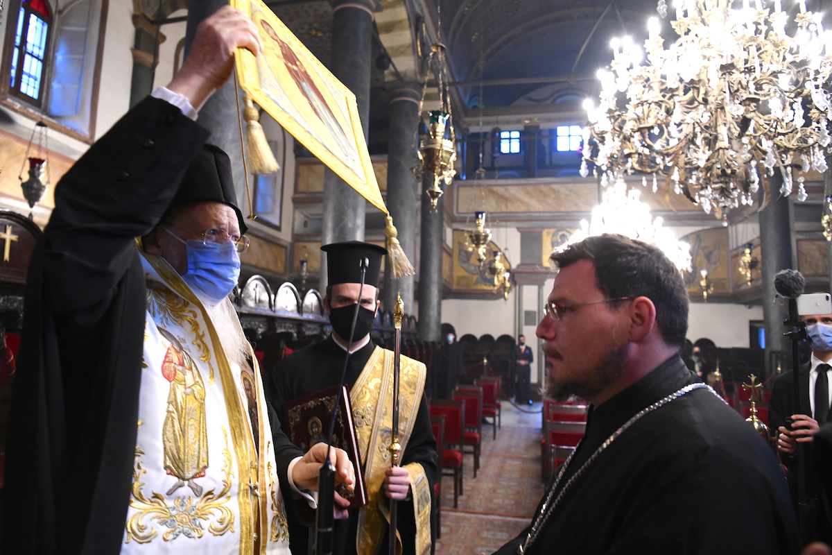 Φωτογραφία: Νικόλαος Μαγγίνας / Οικουμενικό Πατριαρχείο adologala adolo gala nea eidiseis oikoymenikos patriarxis